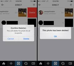 How to delete instagram messages from both sides