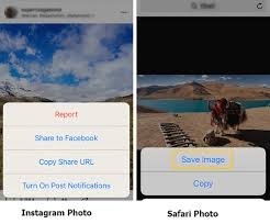 How to save Instagram photos to camera roll