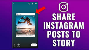 how to share a post to your story on instagram