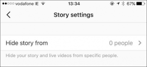 how to block someone from seeing your story on instagram 2