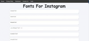 how to change font on instagram bio 2