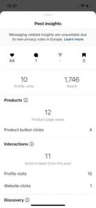 How to see post insights on Instagram 1