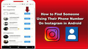 how to find someone on instagram by picture 1