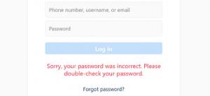 how to reset my instagram password 3