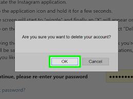 How do you delete Instagram 1