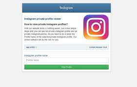 How to view private Instagram 1