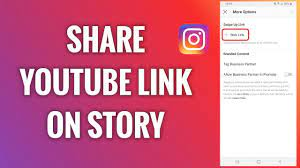 how to share a video on instagram from youtube