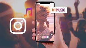 how to play music on your instagram story 4