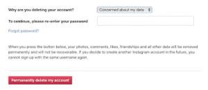 how do you deactivate a instagram account 3